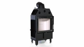 Wkład kominkowy Defro Home Intra SM 10kW