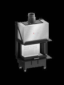 Hitze wkład kominkowy 3 szyby TRINITY TRI80x35x53.G 12 kW