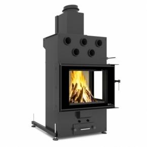 Wkład LOUIS CORNER RIGHT AIR 10kW Twin Glass Automatyczne czyszczenie LCLA02